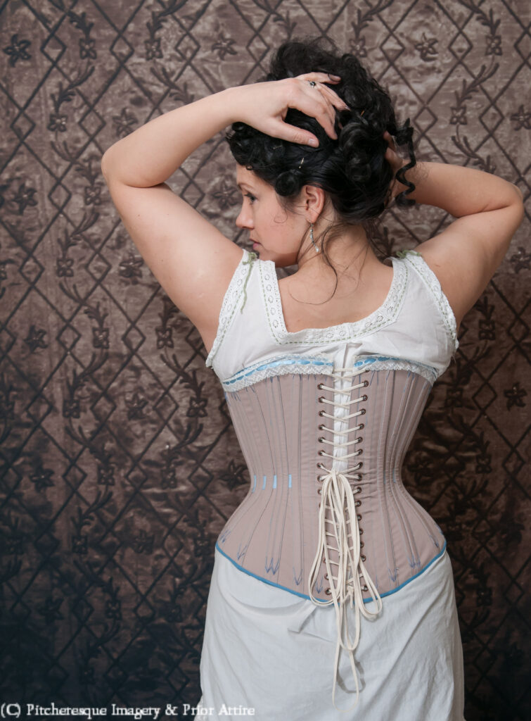 Damsel in Distress - perfect corset back gap